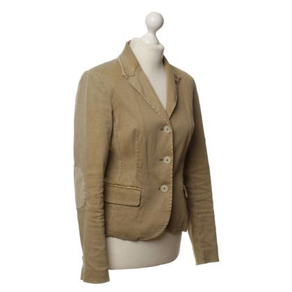Blonde No8 Blazer in ochre