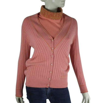 Chanel Cashmere top with vest