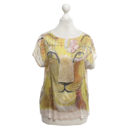 Marc Cain T-shirt with motif print