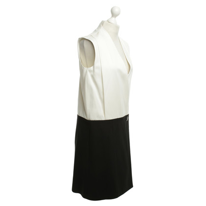 Céline Dress in Black / White