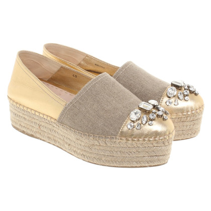 Miu Miu Slipper with wedge heel