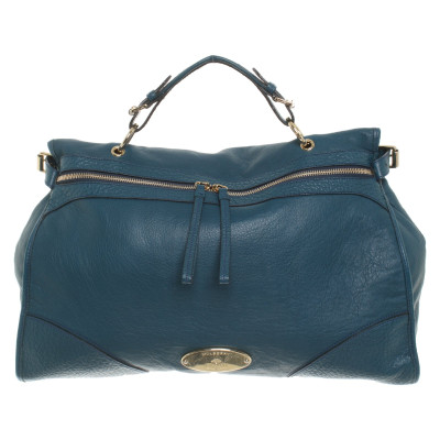 0516922e4f59 Mulberry Handbag Leather in Petrol