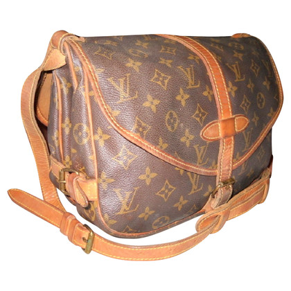"Louis Vuitton ""Saumur 28 Monogram Canvas"""