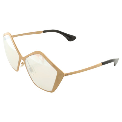 Miu Miu Mirrored metal sunglasses