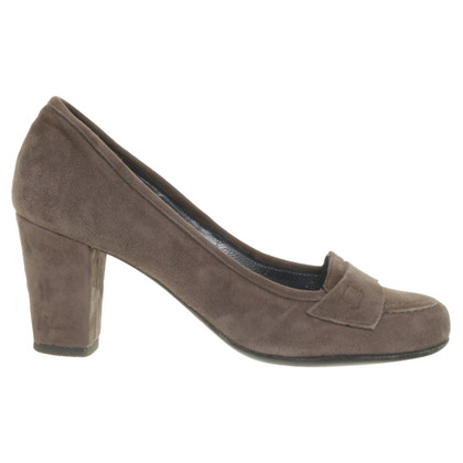 Navyboot L ' autre chose - suede pumps in natural colours