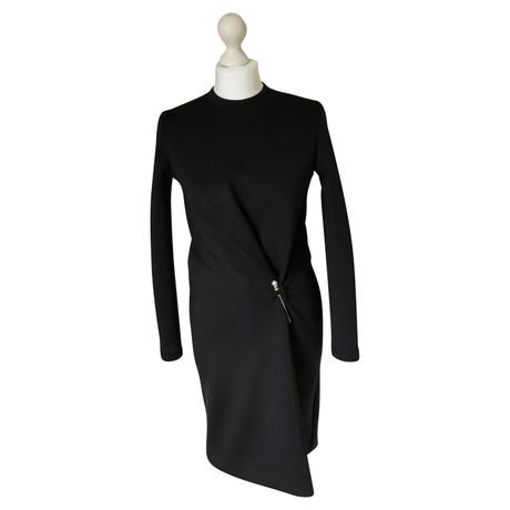Balenciaga Kurzes Kleid Schwarz