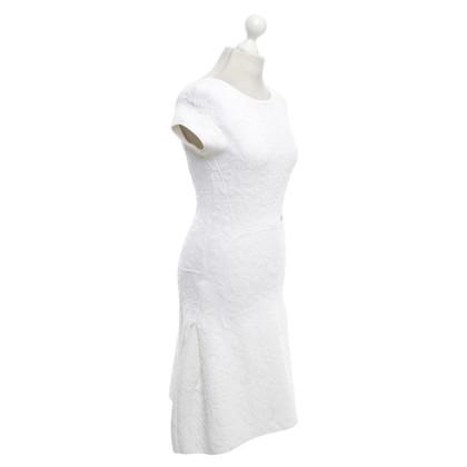Chanel Gebreide jurk in het wit