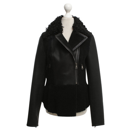 Other Designer Gorgeous - leather jacket in black