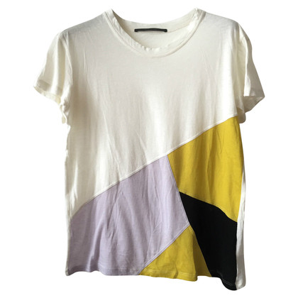 Proenza Schouler T-shirt with patchwork