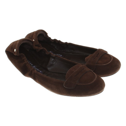 Ralph Lauren Ballerinas in Brown