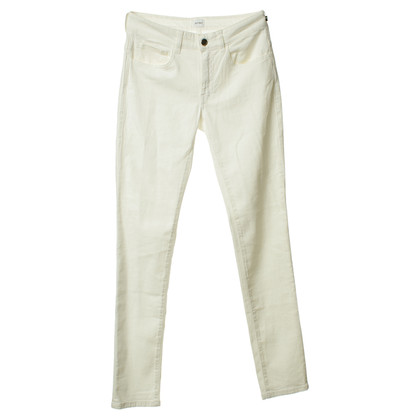 Jet Set Cotton trouser in white