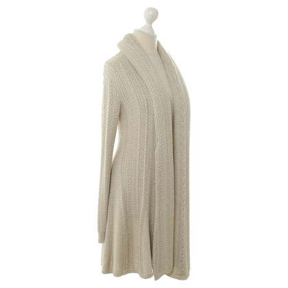 Ralph Lauren Cardigan in beige metallic