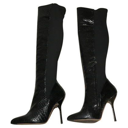 Ballin Python leather boots