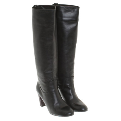 Maliparmi Knee high boots in black