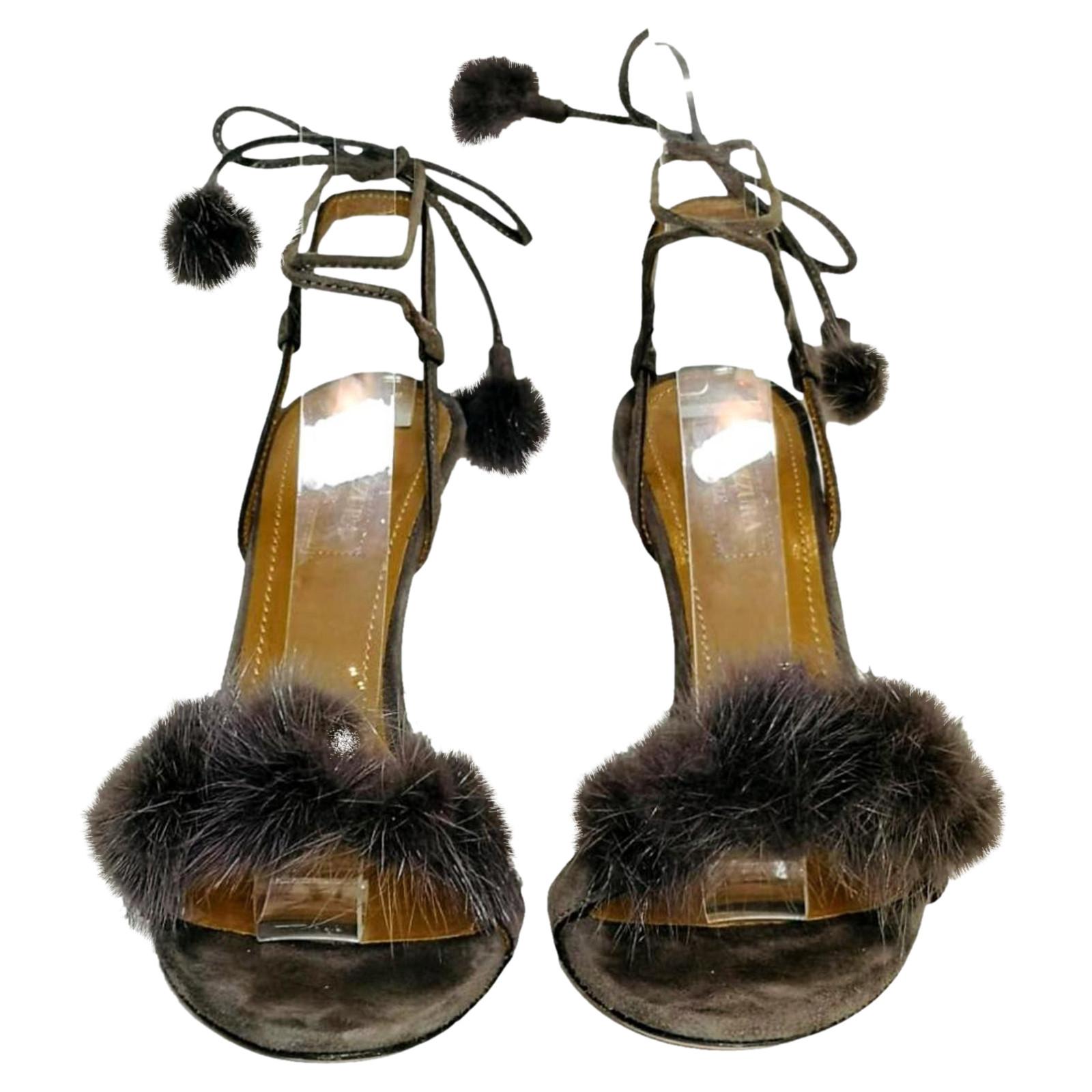 sandalette mit pelz kaufen