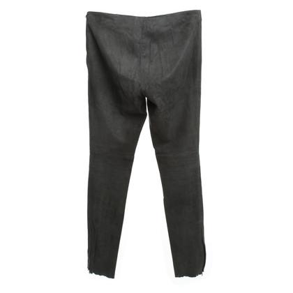 Andere merken Santacroce - broek in suède-look
