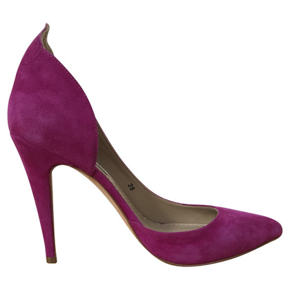 By Malene Birger Grande camoscio pumps in fucsia Gr. 38