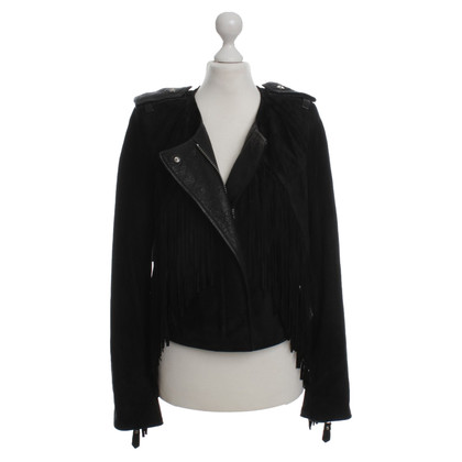 Isabel Marant Leather jacket in black
