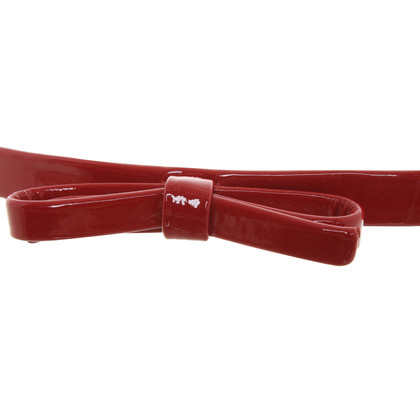 Lanvin Belt in red