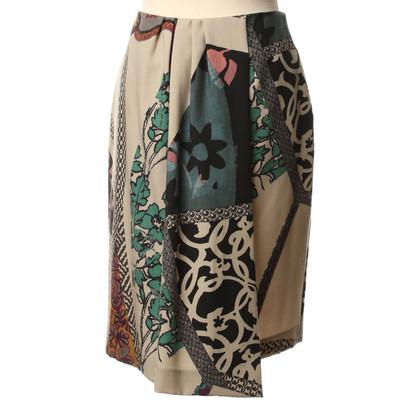 Etro skirt pattern