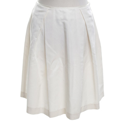 Stefanel skirt in cream white