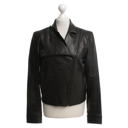 Alexander Wang Leather jacket in black