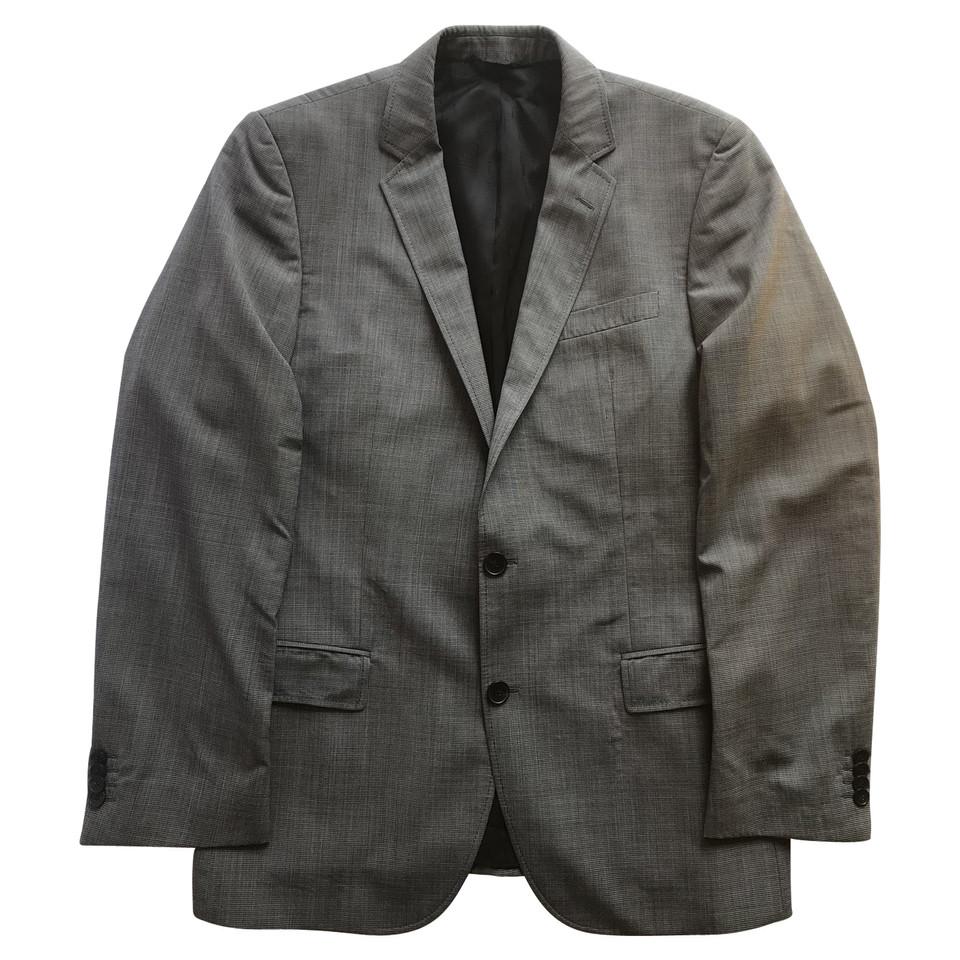 hugo boss veste homme en laine grise acheter hugo boss veste homme en laine grise second hand. Black Bedroom Furniture Sets. Home Design Ideas