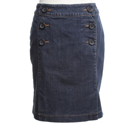 Hobbs Denim skirt in blue