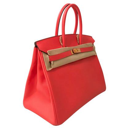 """Hermès """"Birkin Bag 35 Epsom Leather Rose Jaipur"""""""