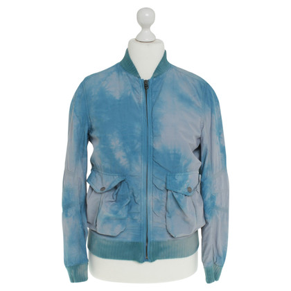 Jet Set Jacket with batik pattern