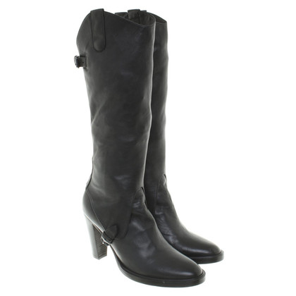 Other Designer A. F. Vandevorst - leather boots in black