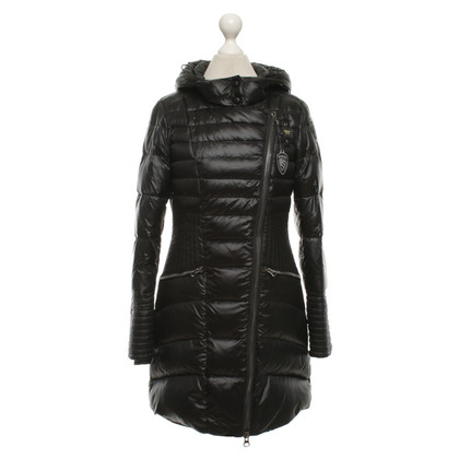 Blauer USA Coat in zwart Beneden