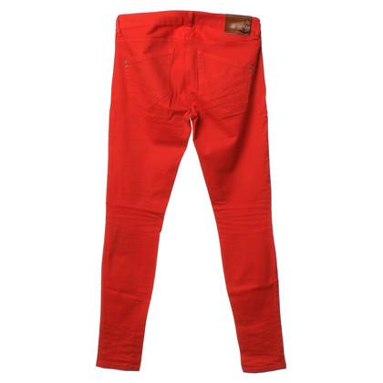 Patrizia Pepe Jeans en rouge