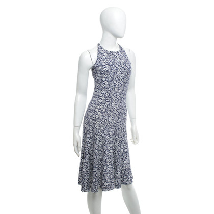 Twin-Set Simona Barbieri Dress in blue / white