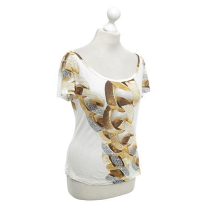 Roberto Cavalli T-Shirt mit Motiv-Print