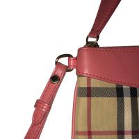 Burberry Handtasche mit Nova-Check-Muster
