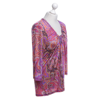 Etro top with paisley pattern