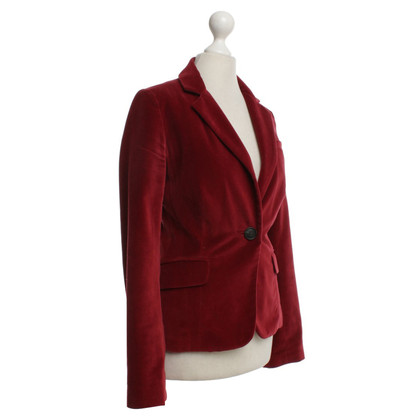 Comptoir des Cotonniers Velvet giacca sportiva in rosso