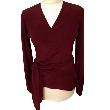 Wolford Wrap blouse silk