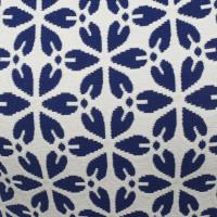 Alexander McQueen Robe en bleu / blanc