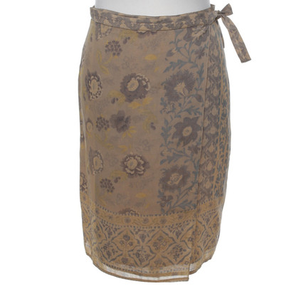 Max Mara Wrap skirt with pattern
