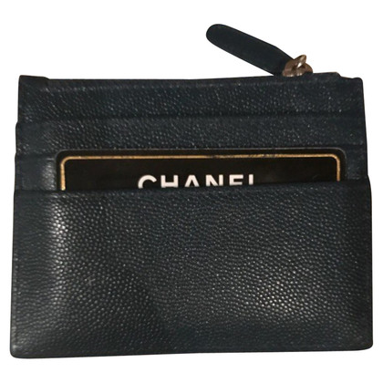 Chanel Card case made of caviar leather
