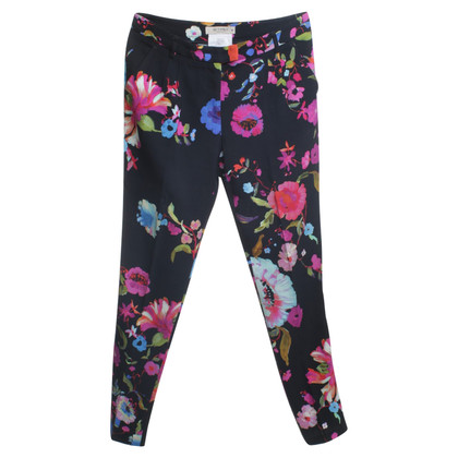 Etro trousers with floral pattern