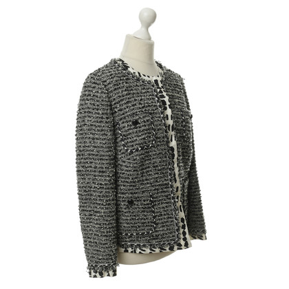 Rena Lange Jacke in Bouclé-Optik