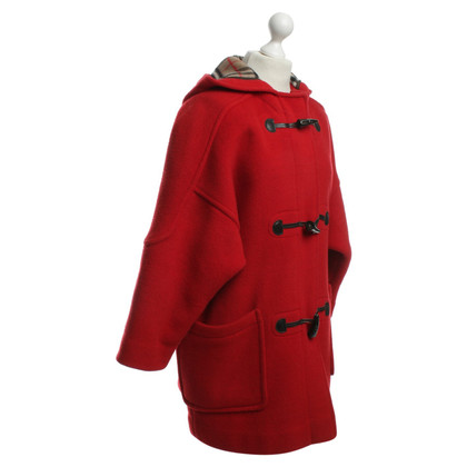 Burberry Montgomery in rosso