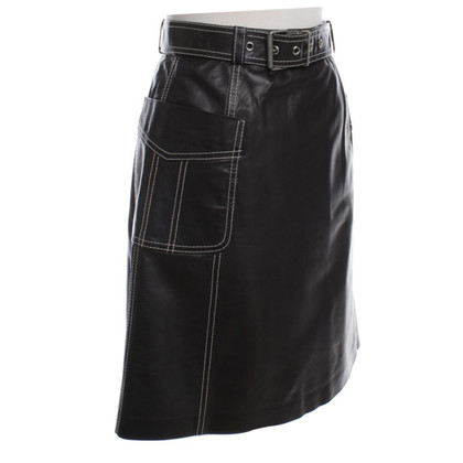 Other Designer Sylvie Schimmel - leather skirt