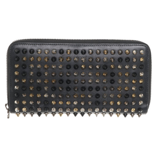 08907e4afca Christian Louboutin Bag/Purse Leather in Black - Second Hand ...