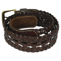 Aigner Brown leather belt