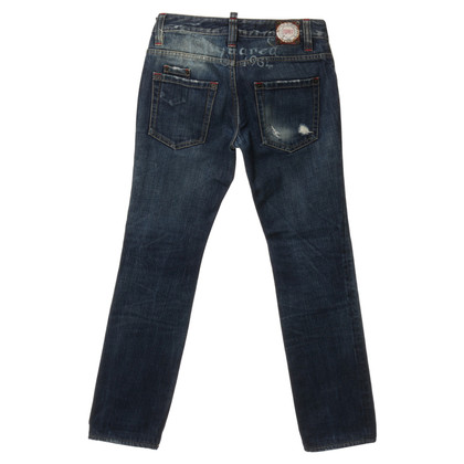 Dsquared2 Denim aspect usagé