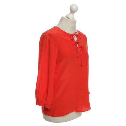 Max Mara Bluse in Rot